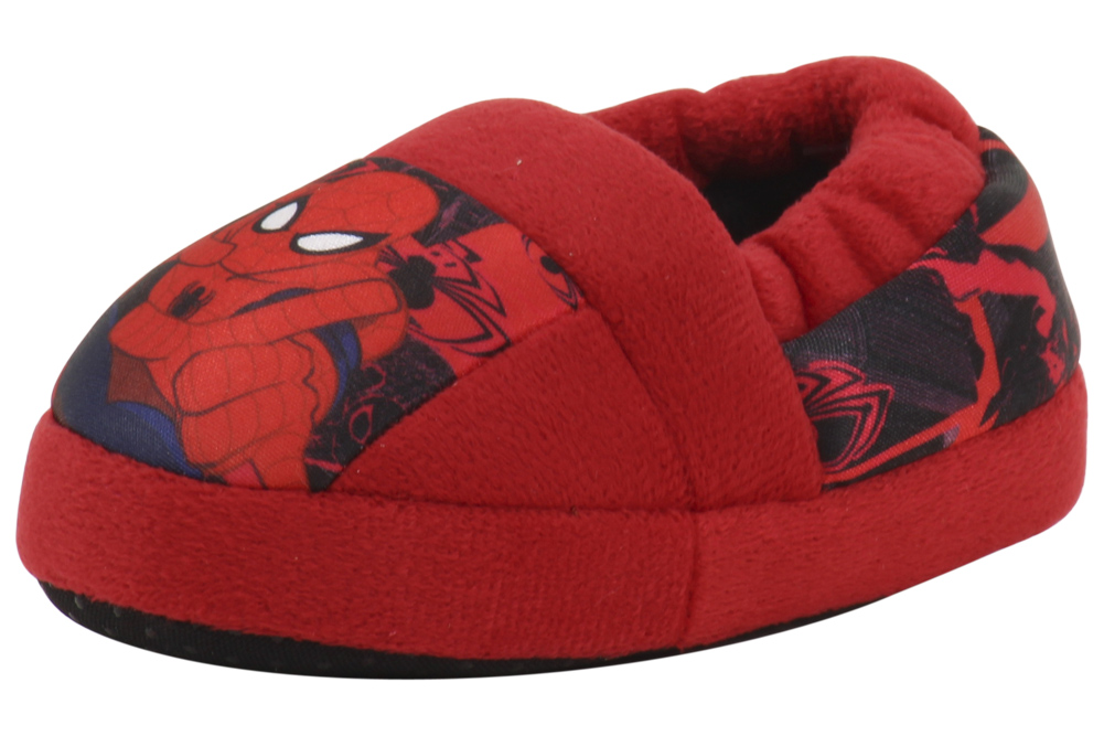 Spiderman Toddler Little Boy s Red Fashion Slippers Shoes