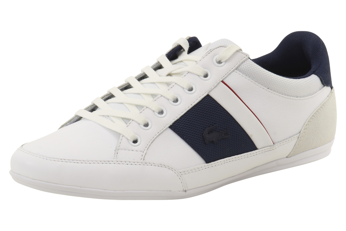 a3b7a7b2cd Lacoste Men's Chaymon G416 1 Suede/Leather Sneakers Shoes