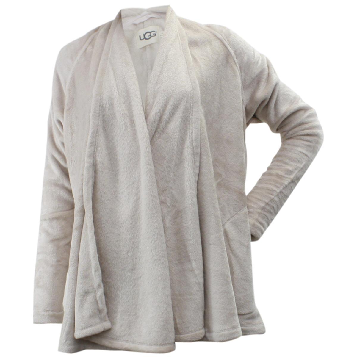 Ugg Women's Isla Draped Fleece Cardigan Sweater