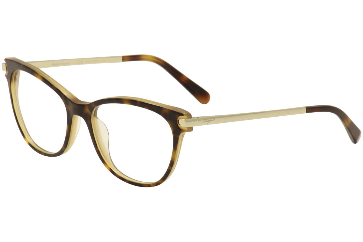 Salvatore Ferragamo Women\'s Eyeglasses SF2763 SF/2763 Full Rim ...