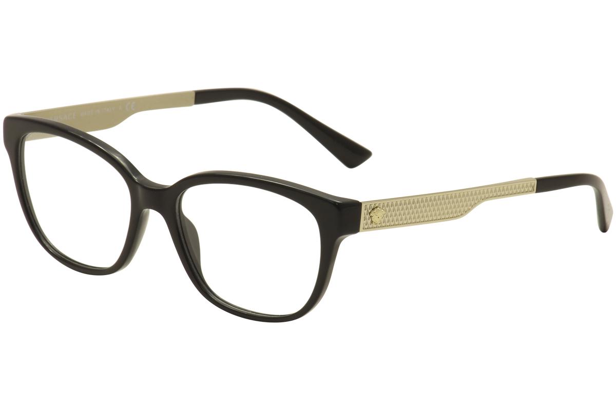 f0fb35ab32f6 Versace Women s Eyeglasses VE3240 VE 3240 Full Rim Optical Frame