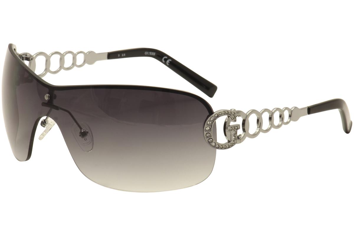 f0479ff575ec6 Guess Women s GU6509 GU 6509 Fashion Shield Sunglasses by Guess