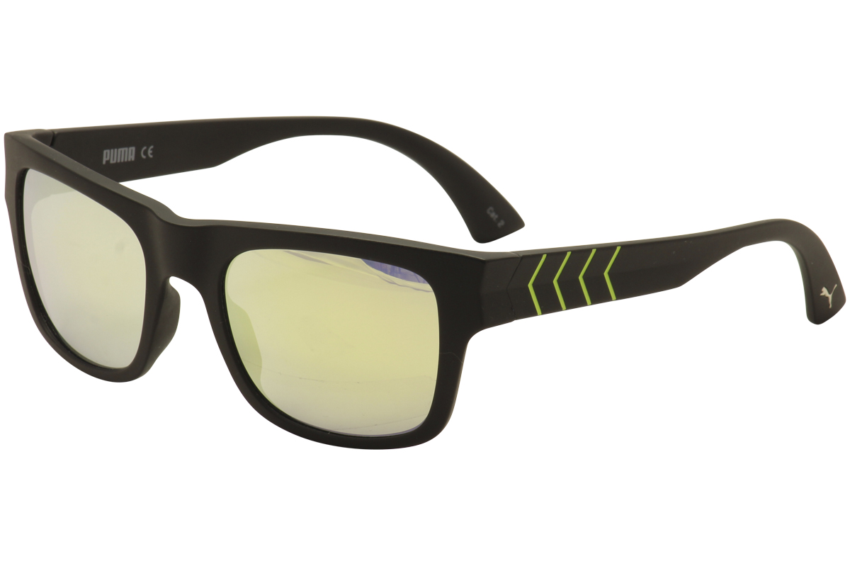 66a7bc5181 Puma Men s Ignite 600 PU 0038S 0038 S Sport Sunglasses