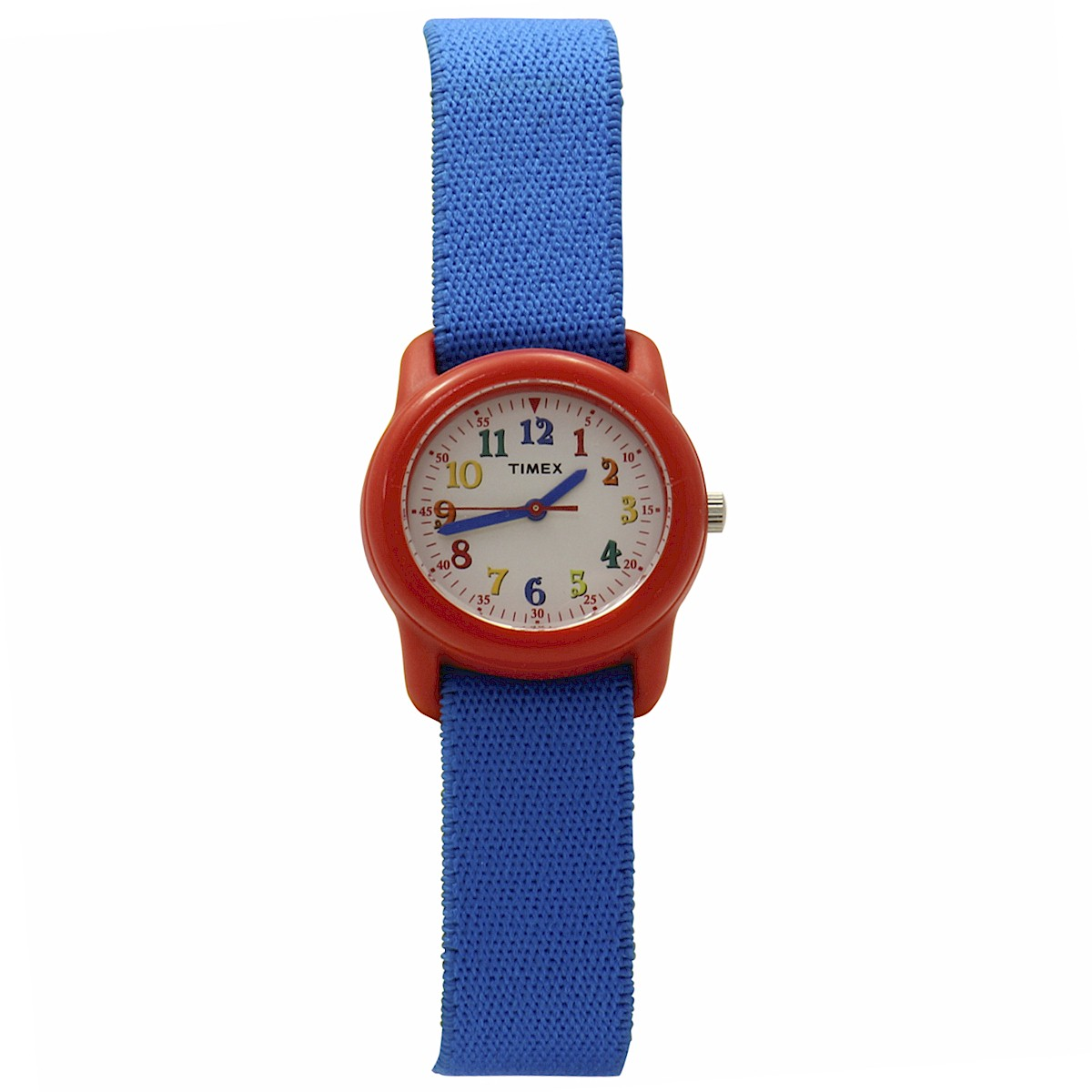 Image of Timex Kid s TW7B995009J Blue Red Adjustable Analog Sport Watch