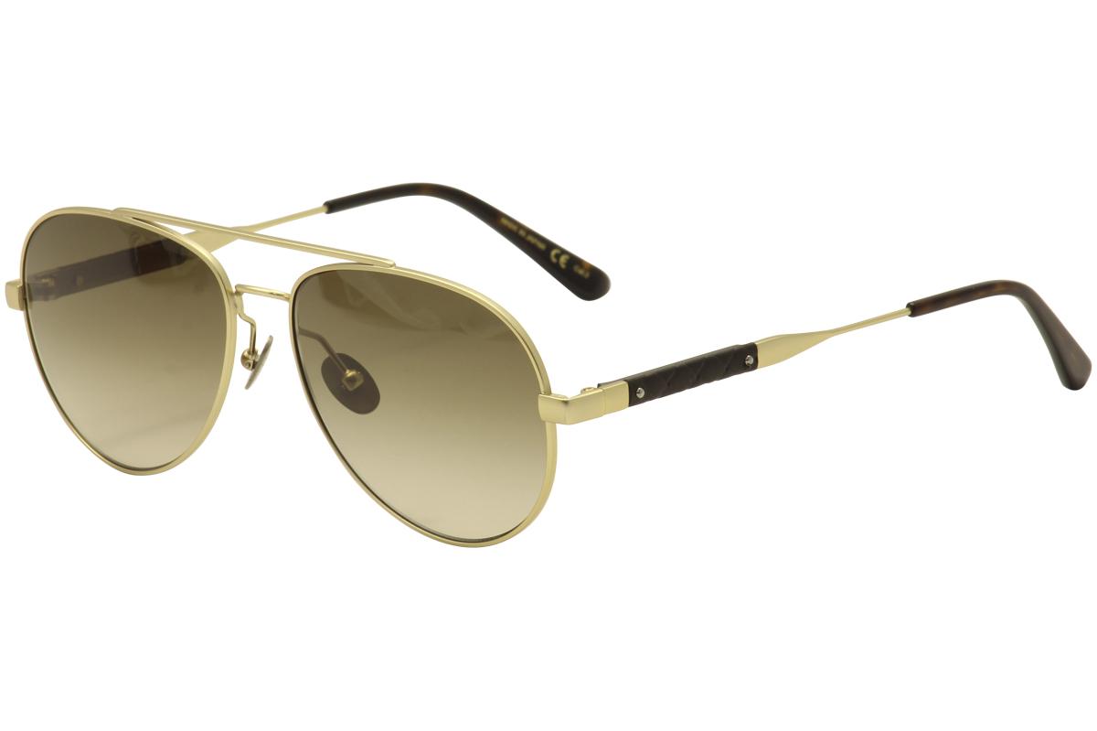 8d94c64a7ba Bottega Veneta Women s BV0042S 0042 S Fashion Pilot Sunglasses by Bottega  Veneta