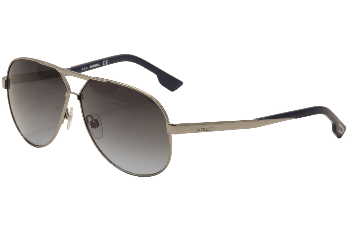 e5d2ee18588 Diesel Men s DL0078 DL 0078 Fashion Aviator Sunglasses by Diesel. Touch to  zoom