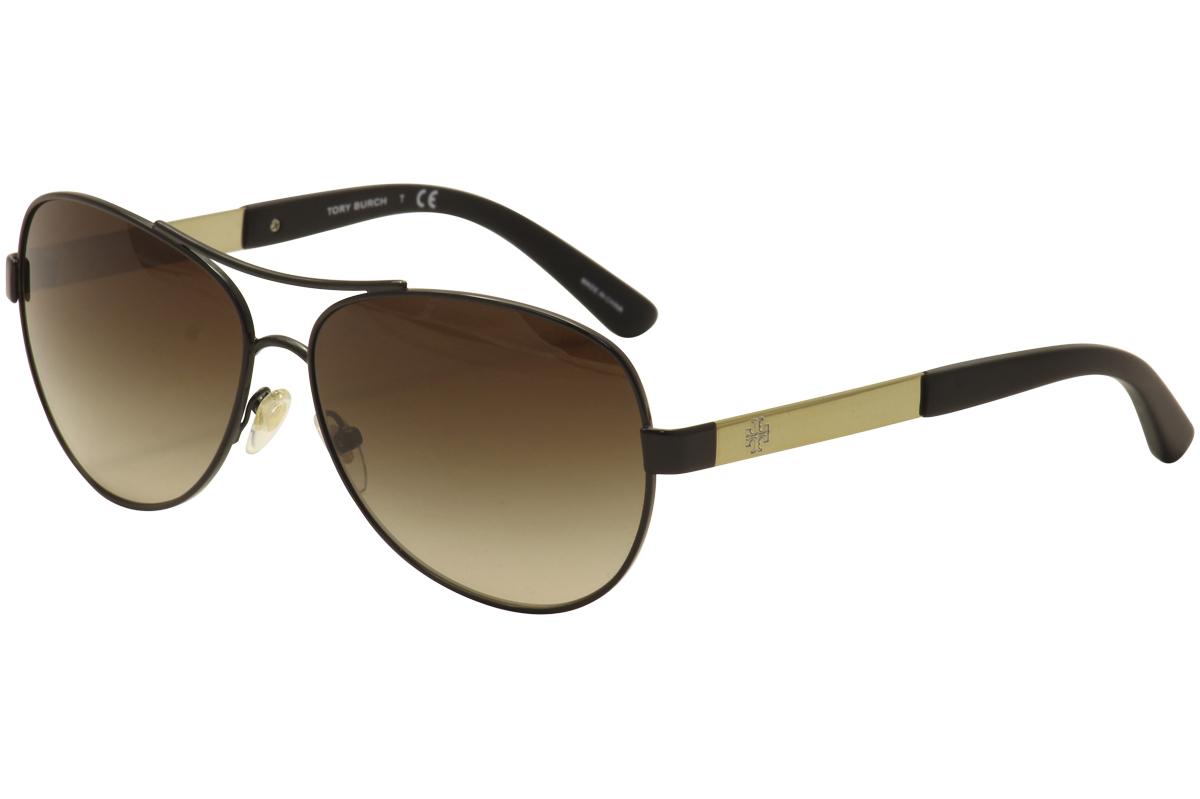 30b0ab6806f66 Tory Burch Women s TY6047 TY 6047 Fashion Pilot Sunglasses by Tory Burch