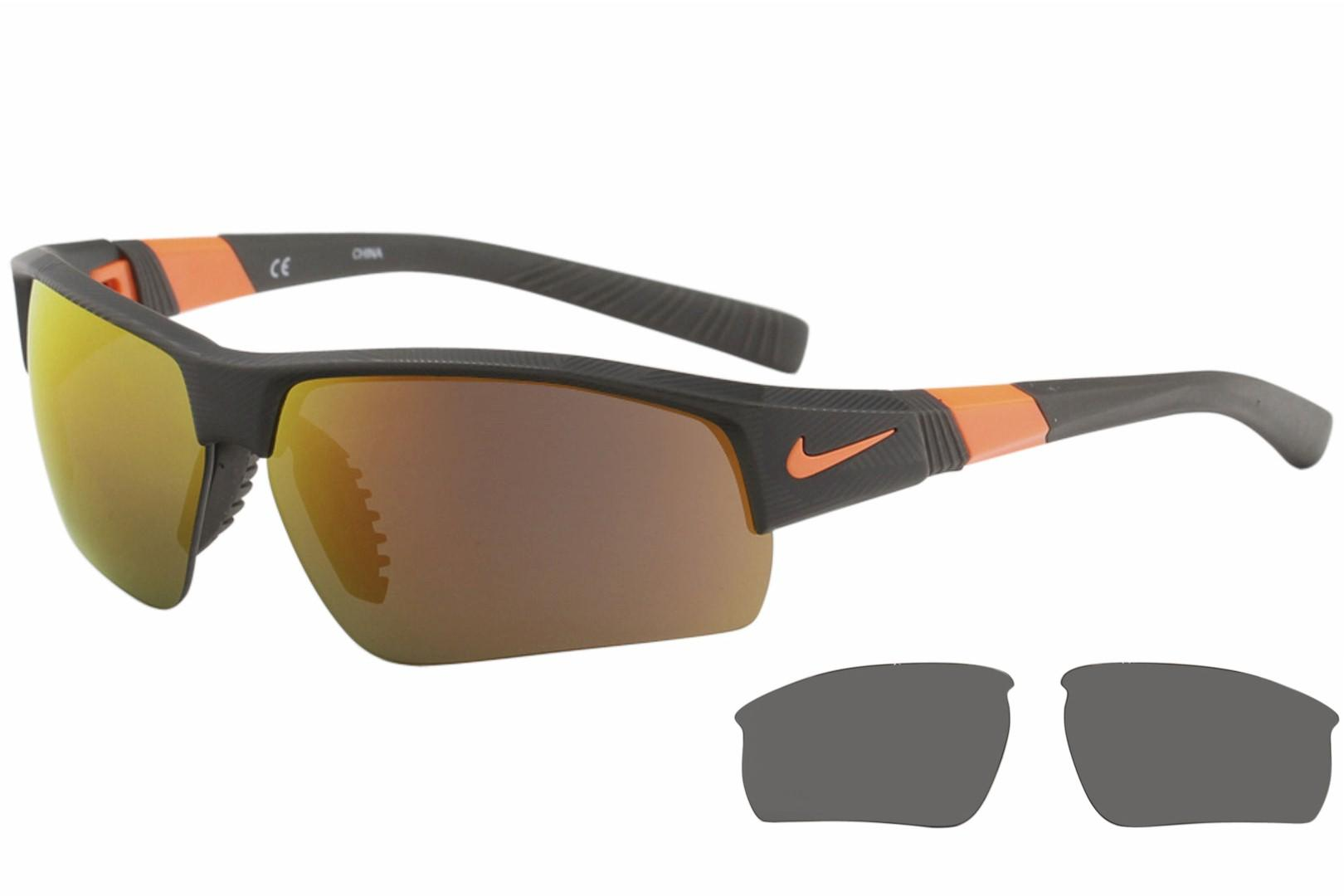 3a349c20912a3 Nike Men's Show X2 Golf Rectangle Sunglasses