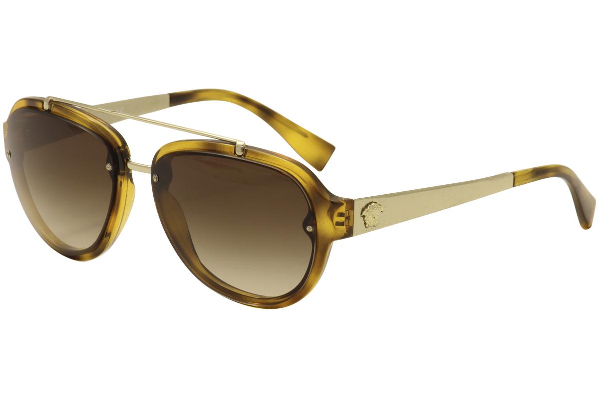 2fecaf6edb35a Versace Men s VE4327 VE 4327 Fashion Pilot Sunglasses