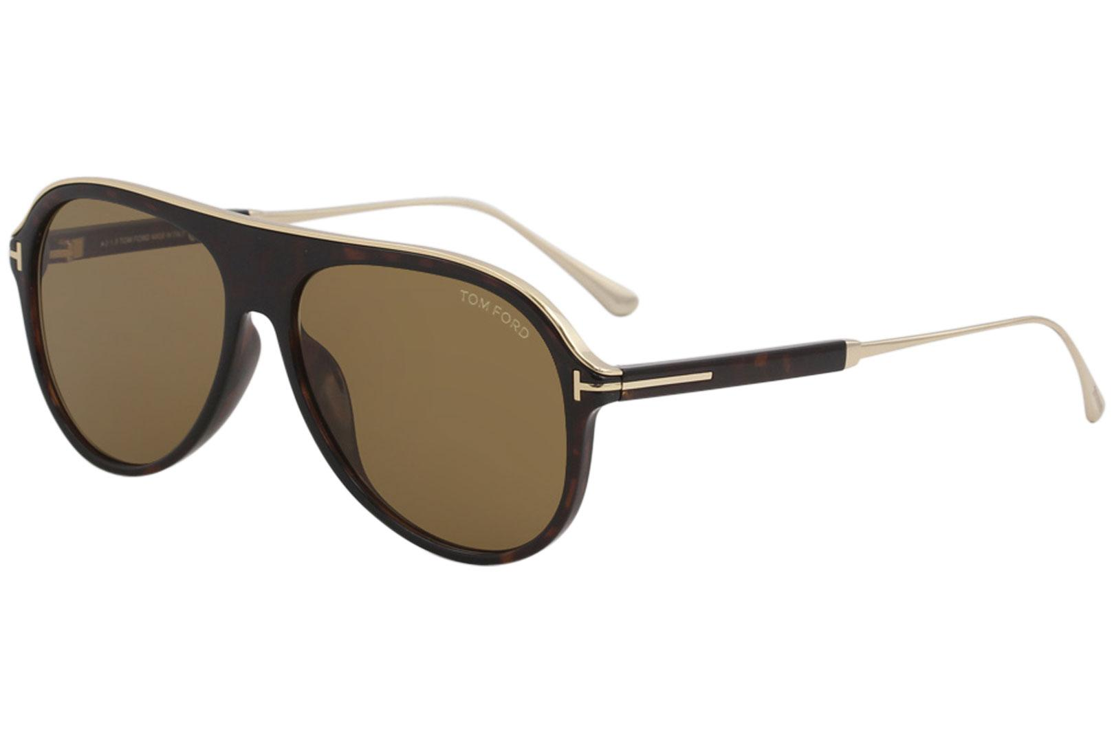 7104573946f Tom Ford Men s Nicholai-02 TF624 TF 624 Fashion Pilot Sunglasses by Tom  Ford. Touch to zoom