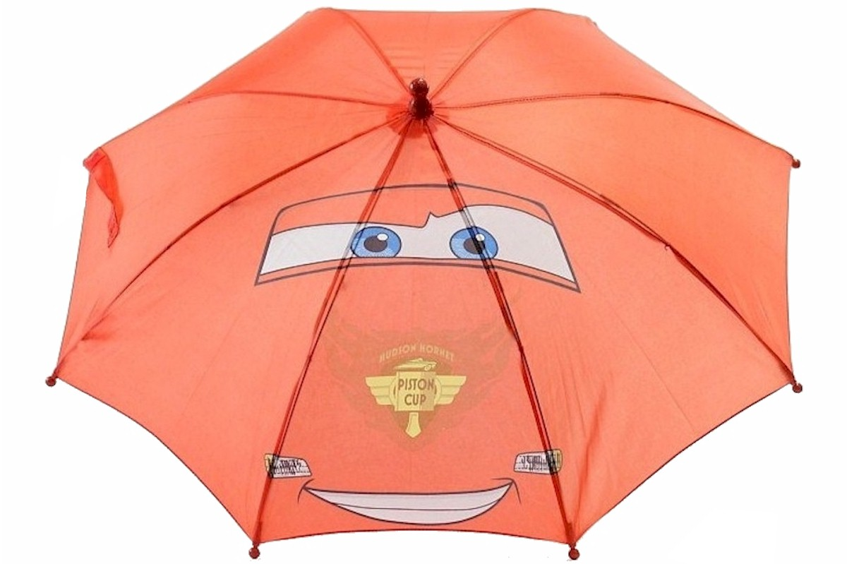Disney Pixar Cars Boy s Red Piston Cup Umbrella