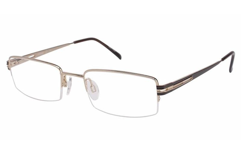 03435e5bd5d Aristar By Charmant Men s Eyeglasses AR6789 AR 6789 Half Rim Optical Frame  by Aristar By Charmant