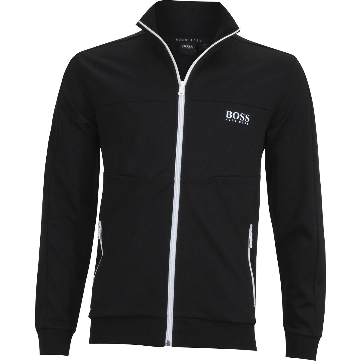 aa1ff634ef0 Hugo Boss Men s Zip Up Basic Long Sleeve Track Jacket by Hugo Boss