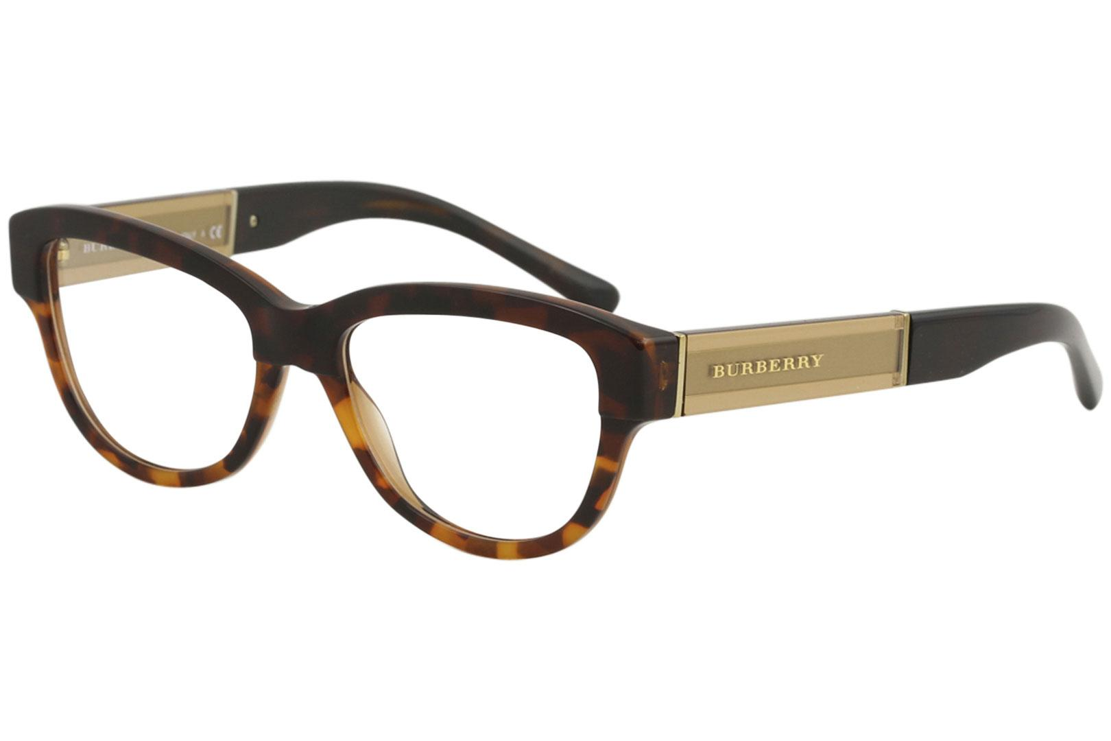 54d1945b8a59 Burberry Women s Eyeglasses BE2208 BE 2208 Full-Rim Optical Frame 53mm by  Burberry