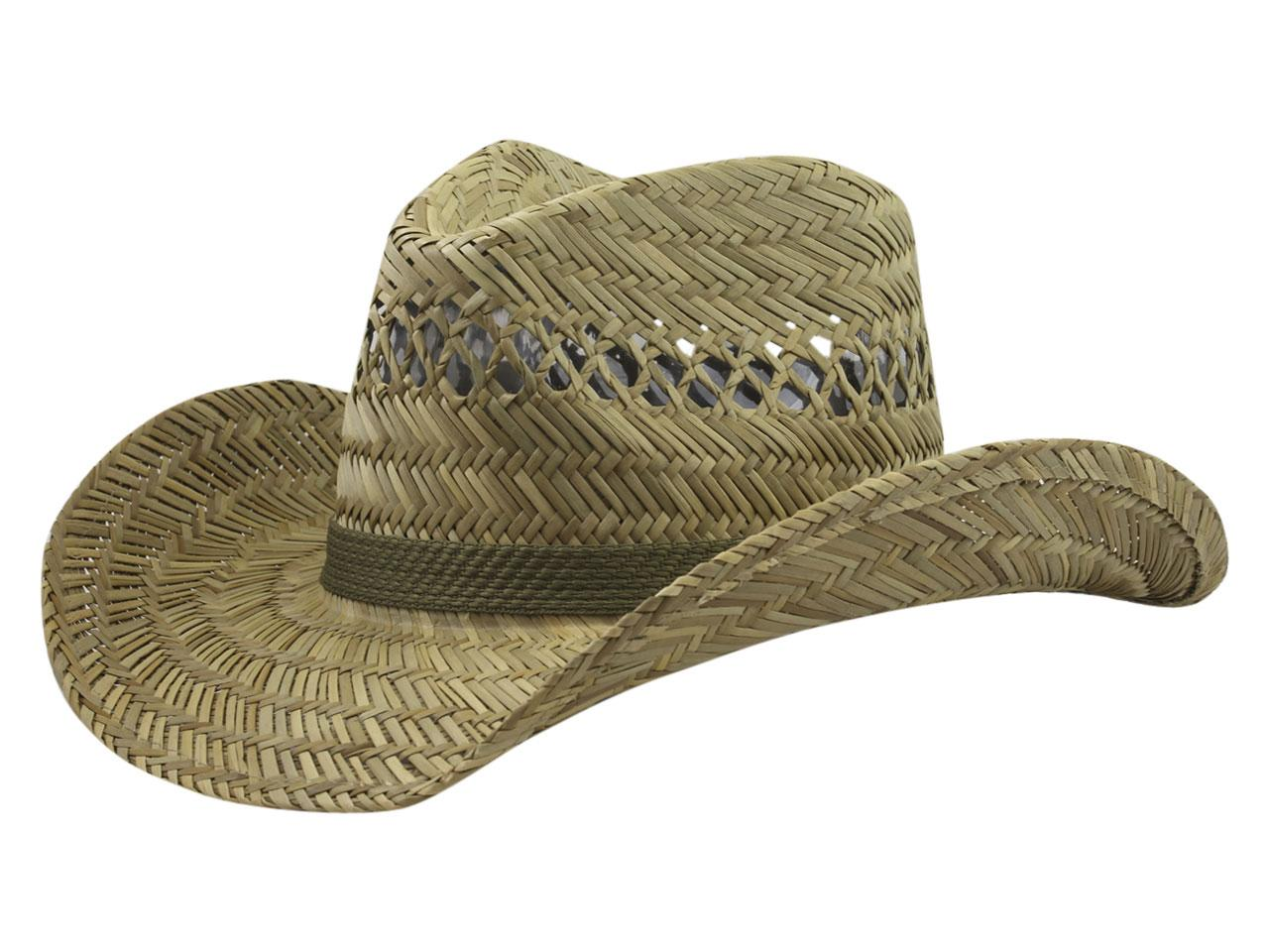 060be5e9f8f9b DPC Global Trends Men s Rush Straw Outback Hat by Dorfman Pacific