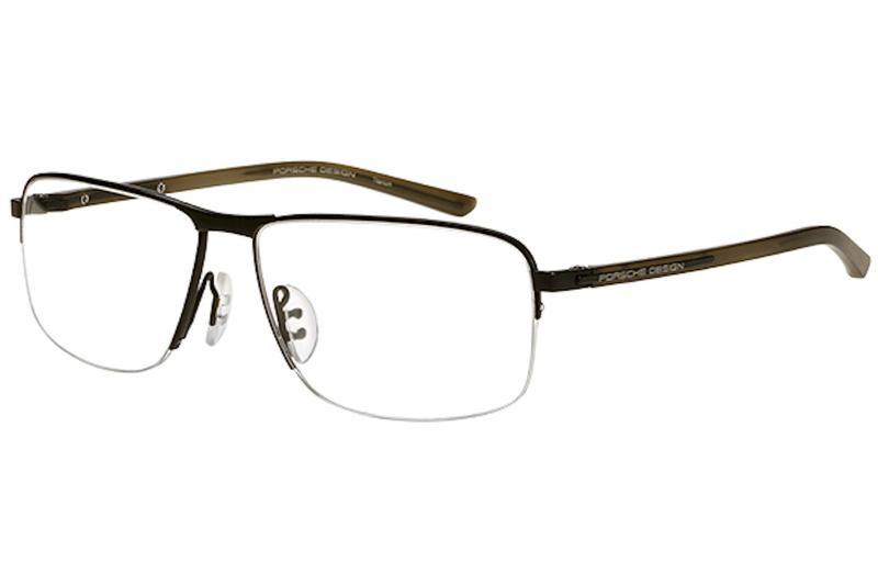 42a5e006fe0 Porsche Design Men s Eyeglasses P8317 P 8317 Half Rim Optical Frame by  Porsche Design