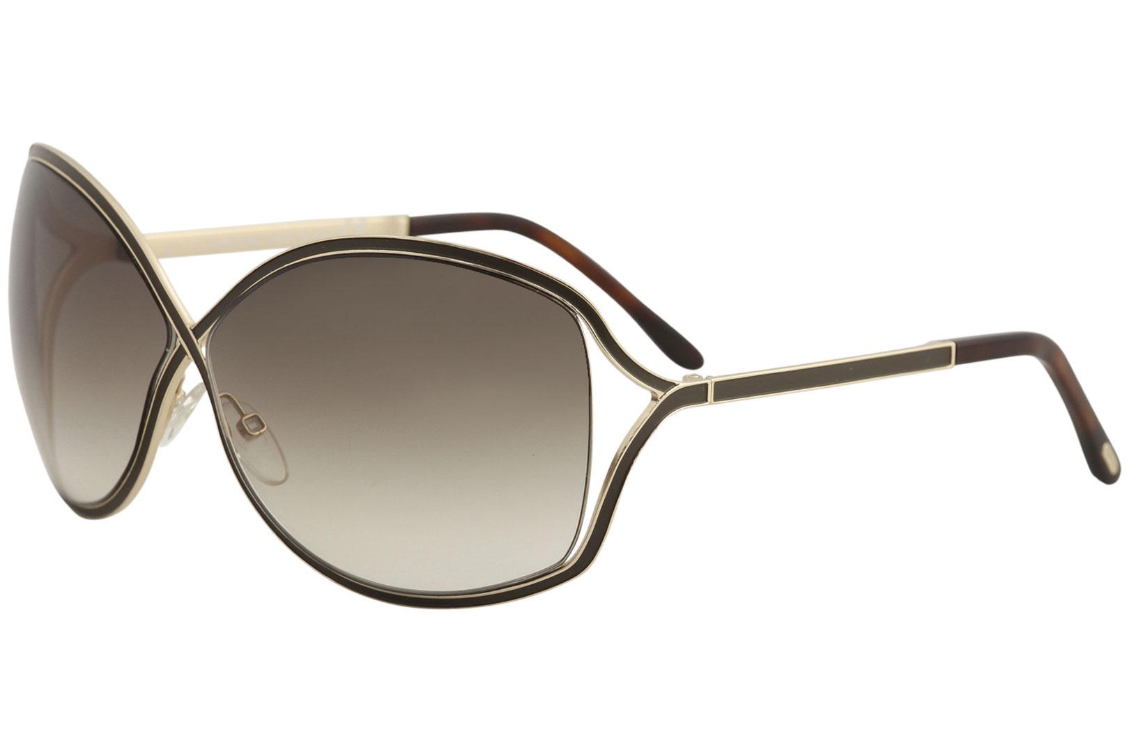 bc8d1f56709c0 Tom Ford Rickie TF179 Sunglasses TF 179 Brown Gold 48F Shades by Tom Ford