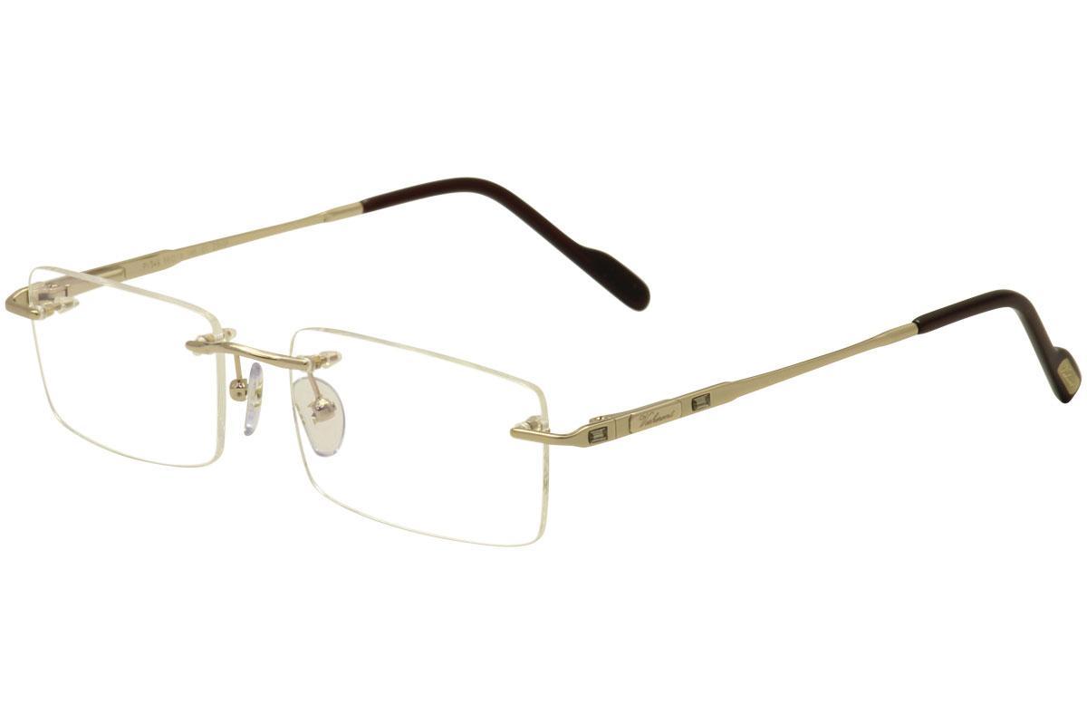 d4c72c1b193 Paul Vosheront Lunettes Women s Eyeglasses PV349 PV 349 Rimless Optical  Frame by Paul Vosheront Lunettes