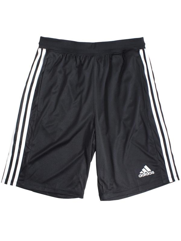 Details about Adidas Men's D2M 3 Stripes Climalite Shorts