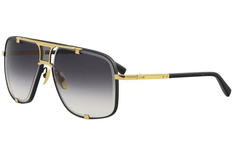 6735265ab8 Dita Men s Mach-Five DRX-2087 18K Gold Fashion Pilot Titanium Sunglasses
