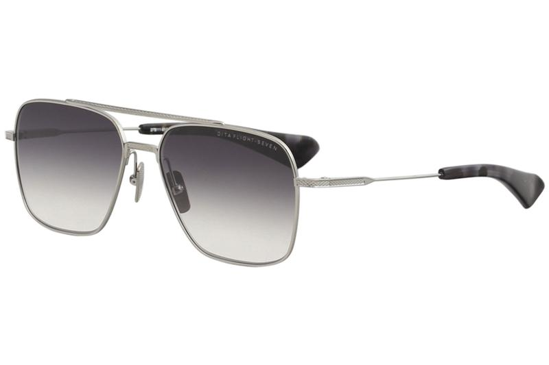 50b0d9cbe3be Dita Men s Flight-Seven DTS111 DTS 111 Fashion Pilot Titanium Sunglasses