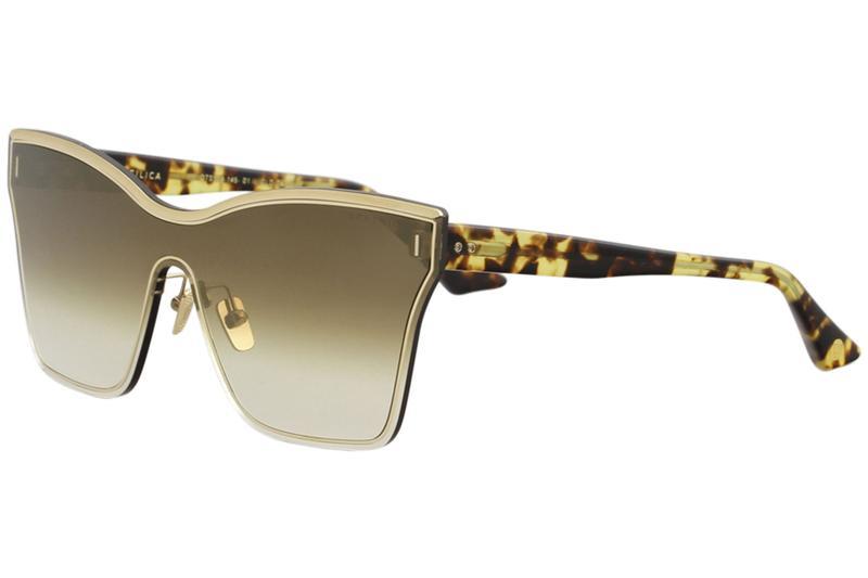 d06919c96dd8 Dita Women s Silica DTS508 DTS 508 Fashion Shield Titanium Sunglasses