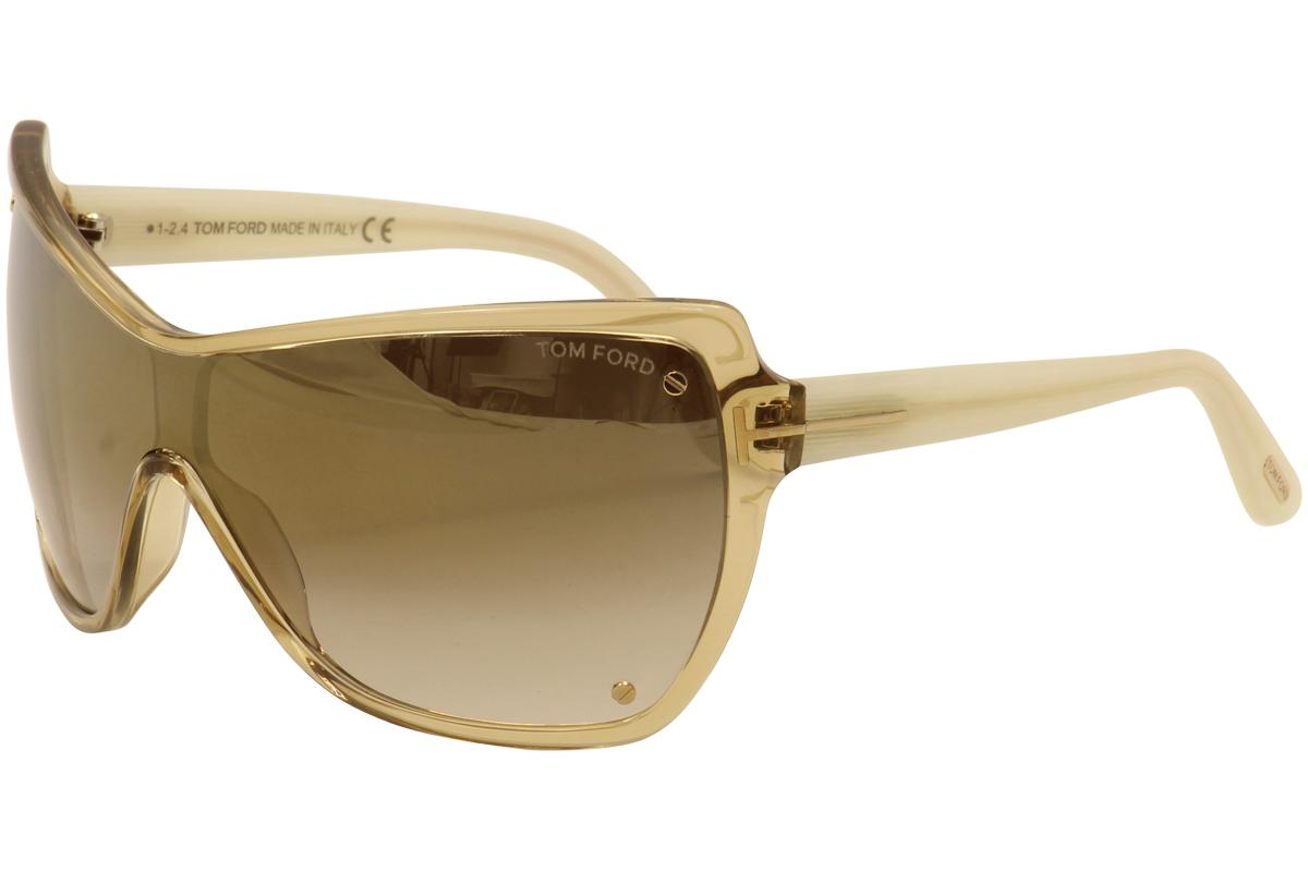 e8c5146de65 Tom Ford Women s Ekaterina TF363 TF 363 Fashion Shield Sunglasses by Tom  Ford