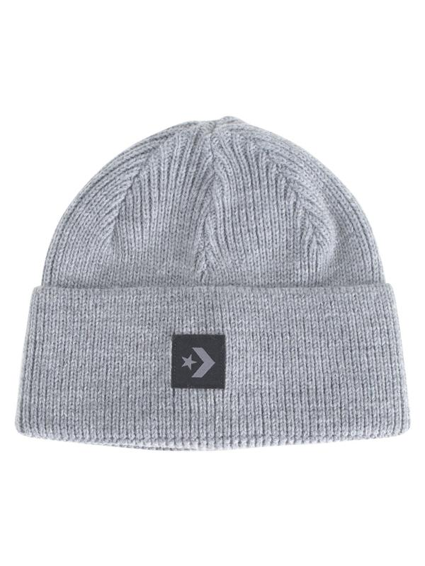 b05dca4e073560 Details about Converse Star Chevron Short Dome Grey Watch Cap Beanie Hat  (One Size Fits Most)