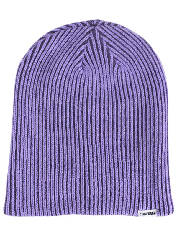 783c91d97eed Converse Rib Knit 2-In-1 Watch Cap Beanie Hat (One Size Fits Most ...