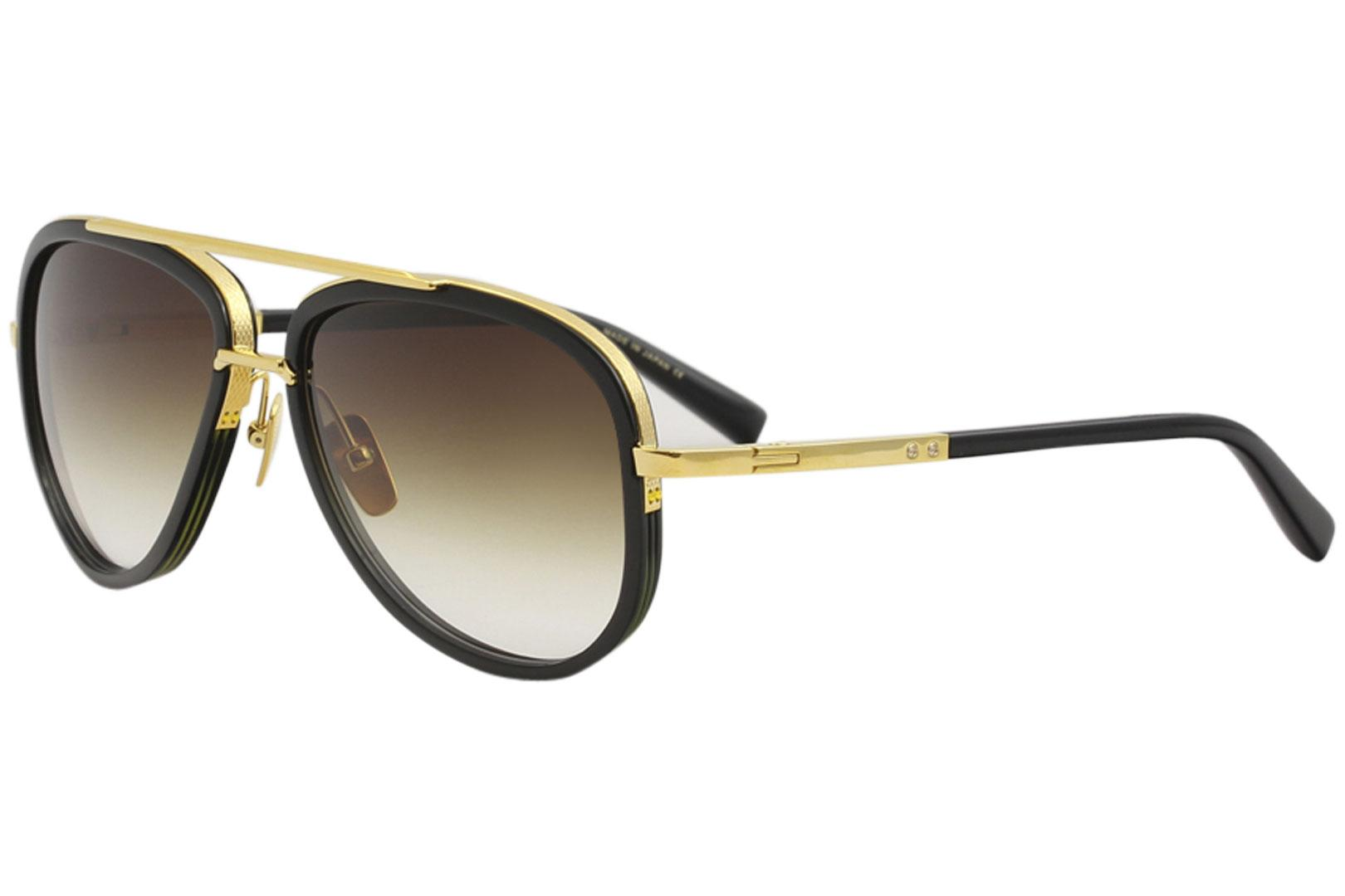fc97085a924 Dita Men s Mach-Two DRX-2031 18K Gold Fashion Pilot Titanium Sunglasses by  Dita. Touch to zoom
