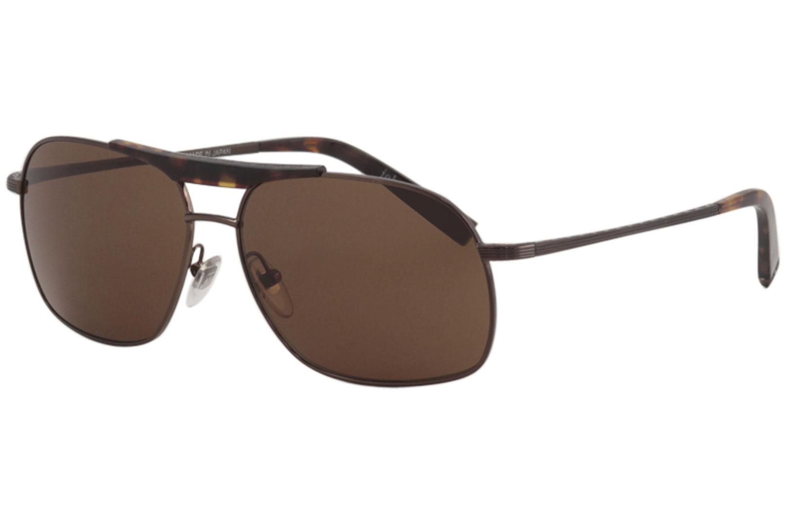 d2b59568fd John Varvatos V775 Sunglasses V-775 Brown Shades