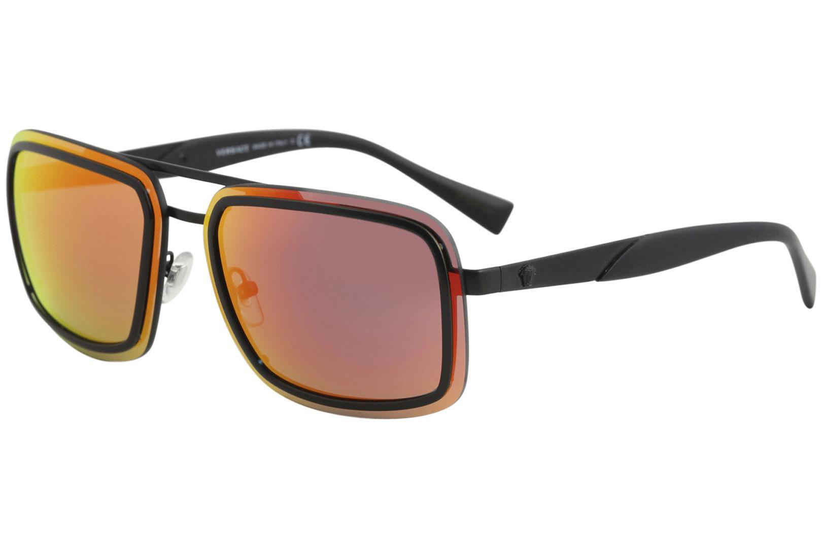 e152b8cd135e Versace Men s VE2183 VE 2183 Fashion Square Sunglasses by Versace