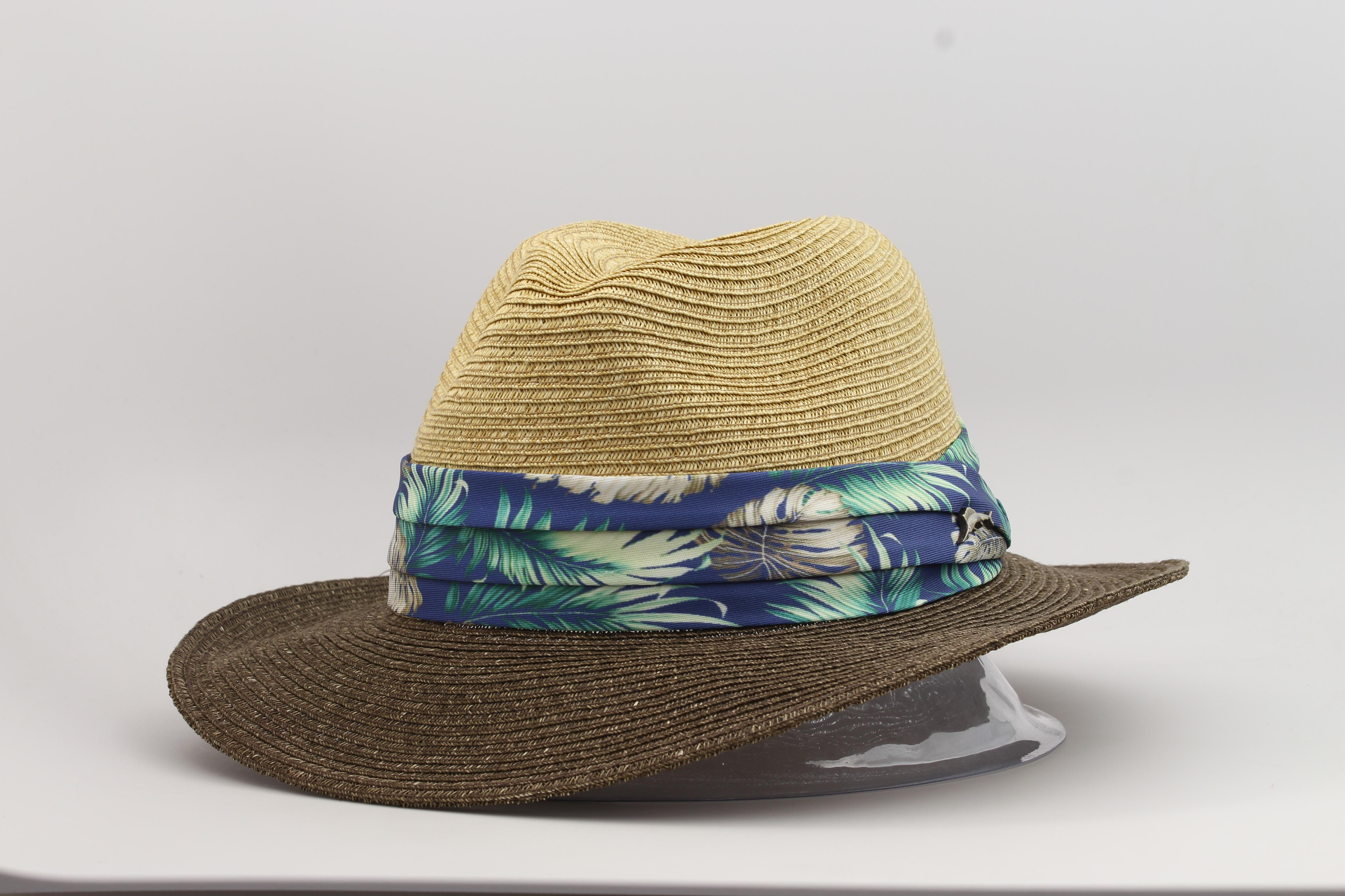 611eb9b8e0254 Tommy Bahama Men s Toyo Braid Safari Hat by Tommy Bahama. Touch to zoom