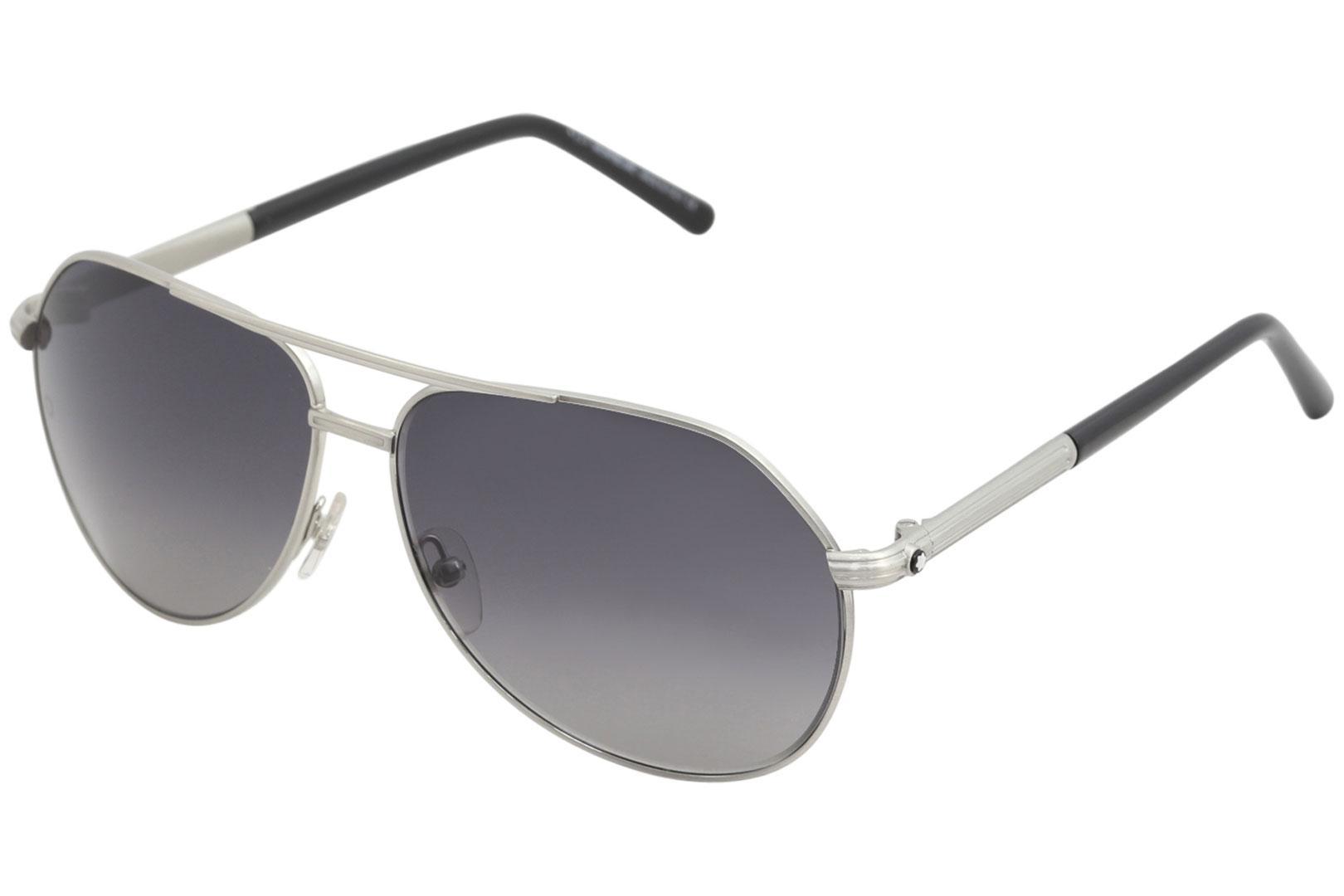 54db4a6196 Mont Blanc Men s MB504S MB 504 S Fashion Pilot Sunglasses by Mont Blanc