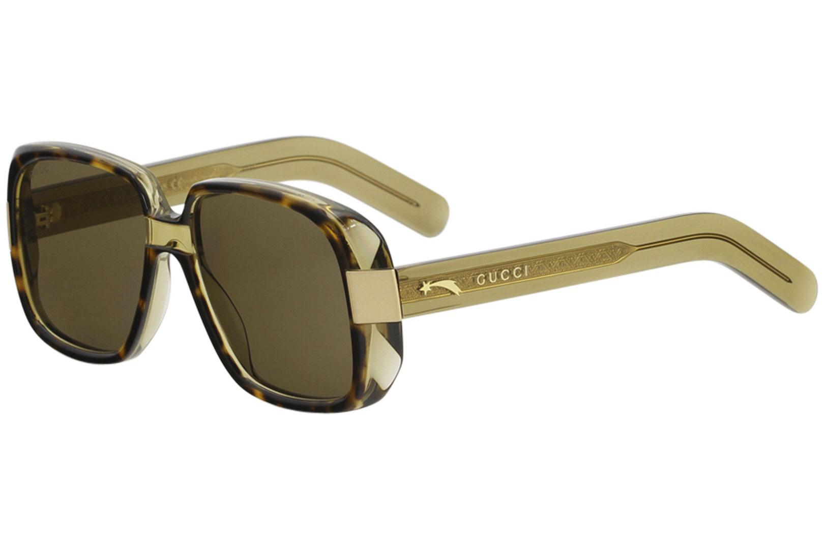 c3ac55aafcd Gucci Women s GG0318S GG 0318 S Fashion Square Sunglasses by Gucci