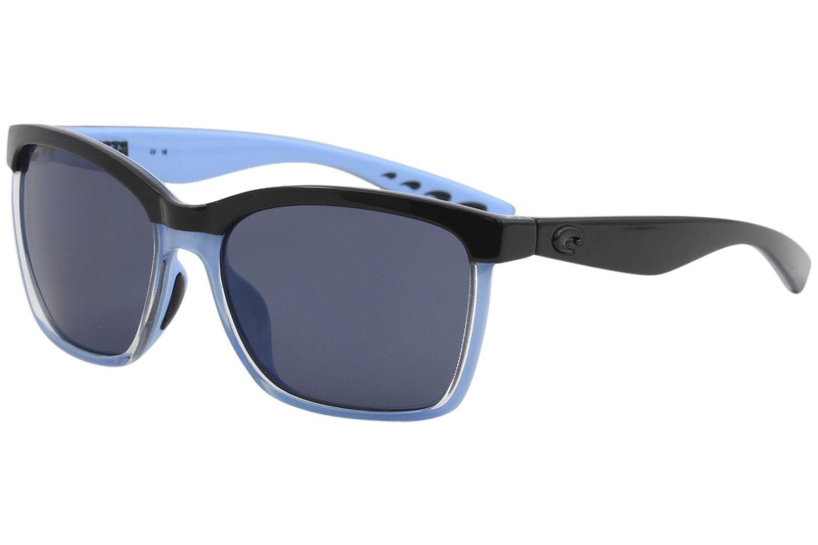 Costa Del Mar Women s Anaa Fashion Square Polarized Sunglasses by Costa Del  Mar 3e5e824b71