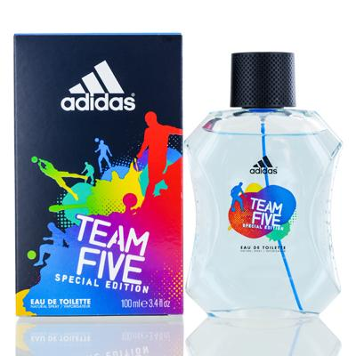 Image of ADIDAS TEAM FIVE /COTY EDT SPRAY SPECIAL EDITION 3.4 OZ (100 ML) (M)