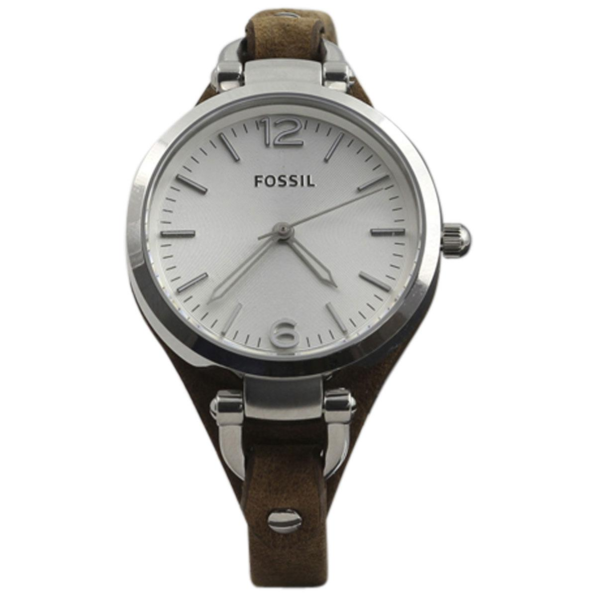 Fossil Women s ES3060 Silver Stainless Steel Analog Watch