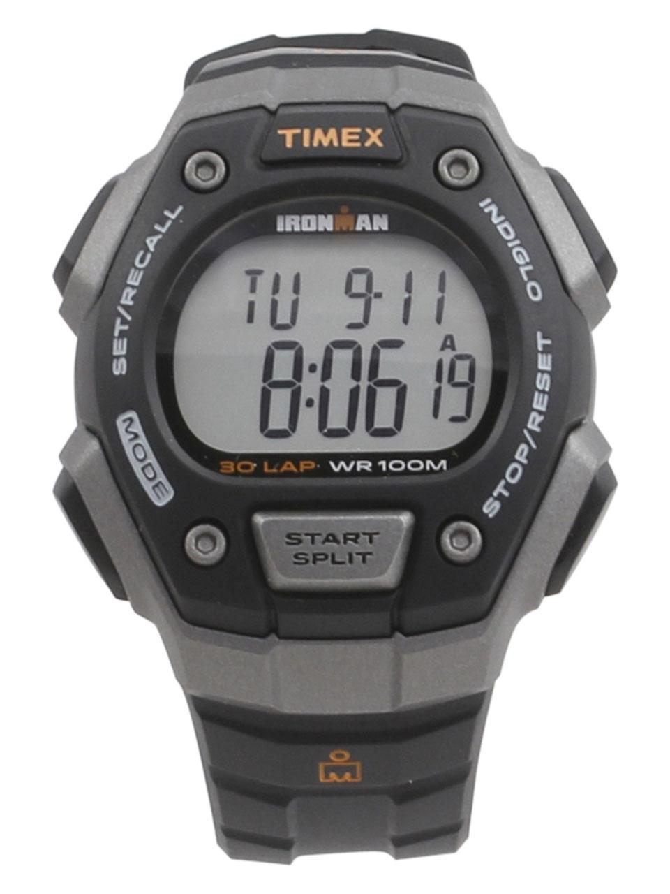 Timex Men s T5K821 Ironman Classic 30 Grey Black Digital Watch
