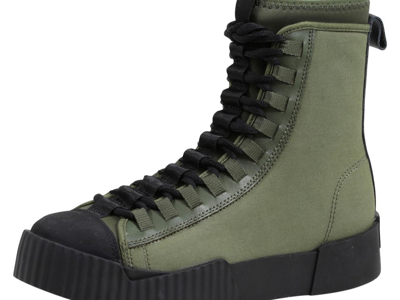 G Star Raw Men's Rackam Scuba II High High Top Sneakers Shoes