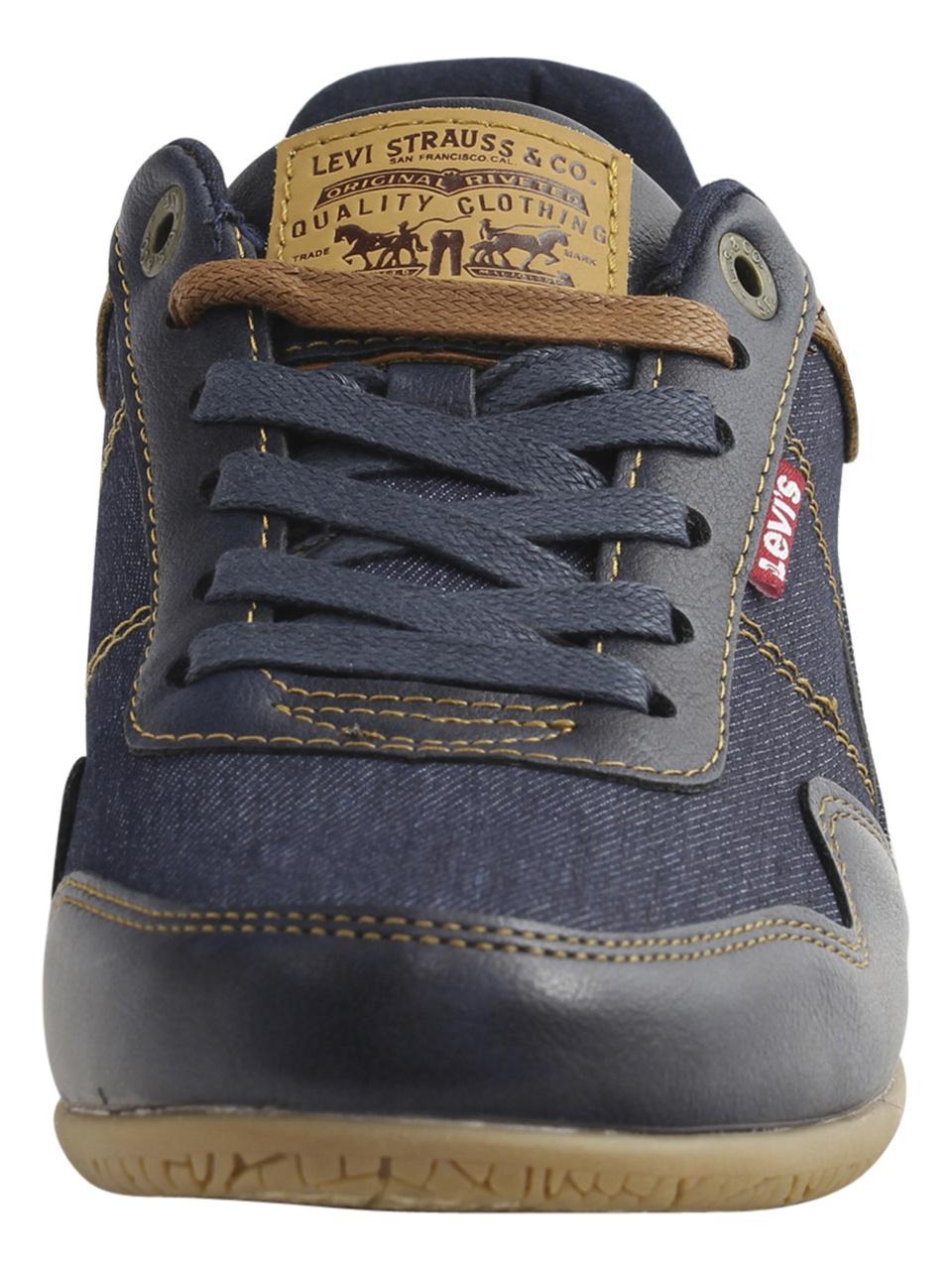 40a738266958 Levi s Men s Rio-Nappa-UL-Denim Levis Sneakers Shoes by Levi s