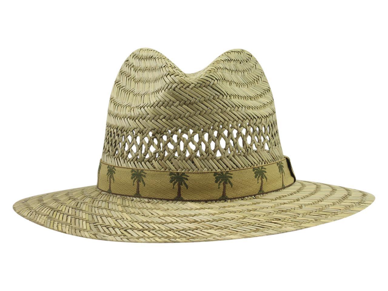 caa6af7b855b6 DPC Global Trends Men s Palm Tape Rush Safari Hat by Dorfman Pacific