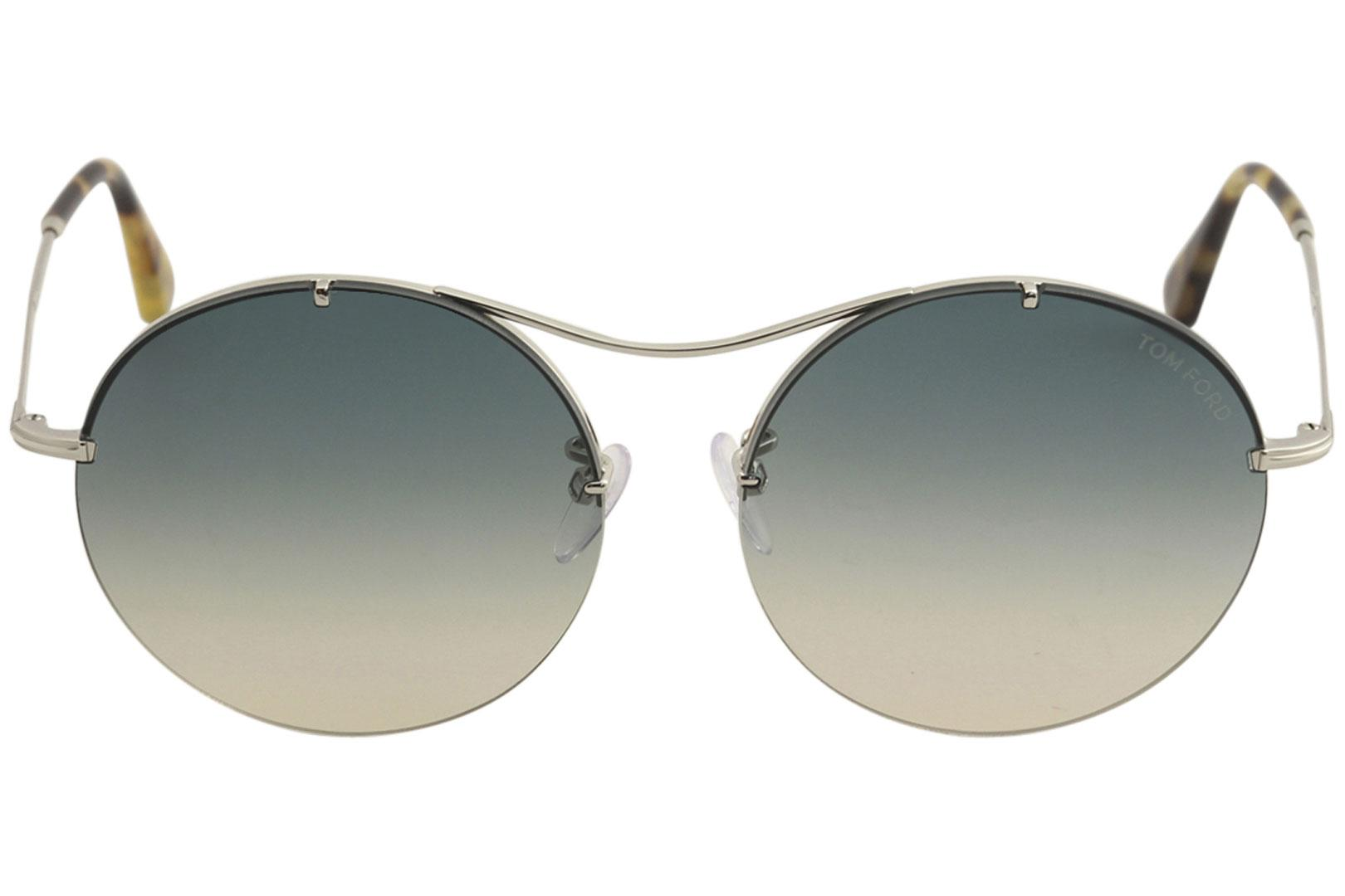 dc45c34bbd5 Tom Ford Women s Veronique-02 TF565 TF 565 Fashion Round Sunglasses by Tom  Ford
