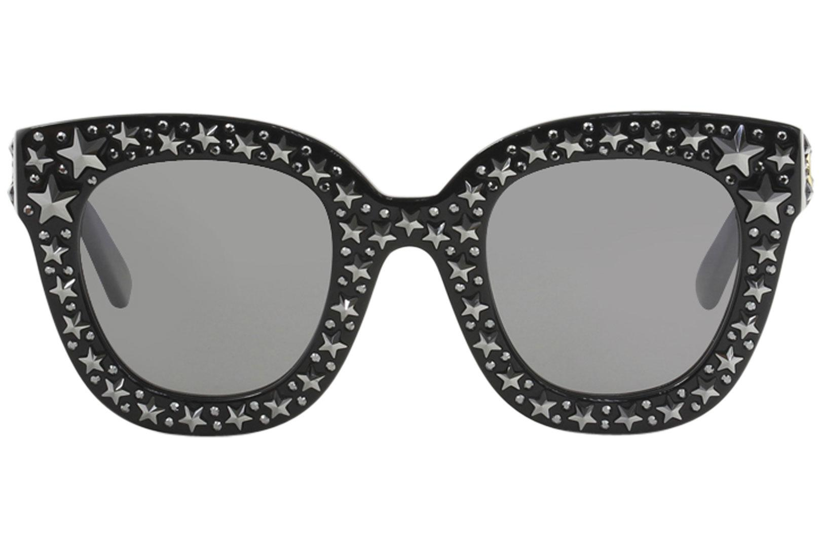 cafbb610e Gucci Women's GG0116S GG/0116/S Fashion Square Sunglasses by Gucci