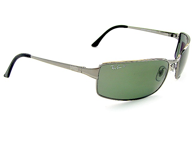 3d82e8b79d RAY BAN 3269 Gunmetal 004 58 RAYBAN Polarized Sunglasses 63x18 by RAY BAN