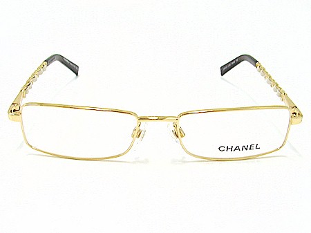 92a8b0fc98 Chanel 2130-Q 2130Q Gold 125 Optical Frame Eyeglasses 50x16 by Chanel. Touch  to zoom