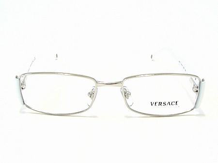 1dcbdda0f75a VERSACE 1125-B 1125B White 1000 Optical Frame Eyeglasses 49x16 by Versace