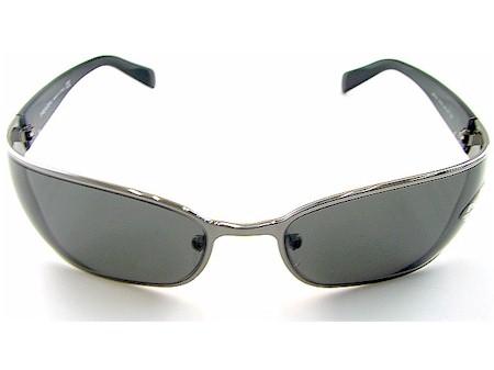 146758710440d PRADA SPR 53F SPR53F Gunmetal 5AV-1A1 Sunglasses by Prada