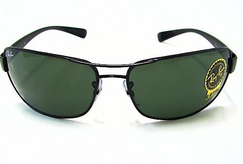 190f9081d0 RAY BAN 3379 Shiny Black 002 RAYBAN Sunglasses 64x15 by Ray-Ban