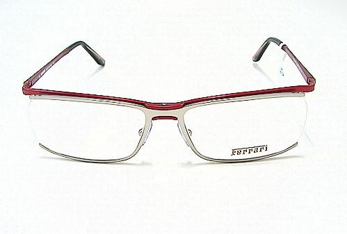 FERRARI FR-5015 FR5015 Mat Palladium 429 Optical Frame Eyeglasses 55x16